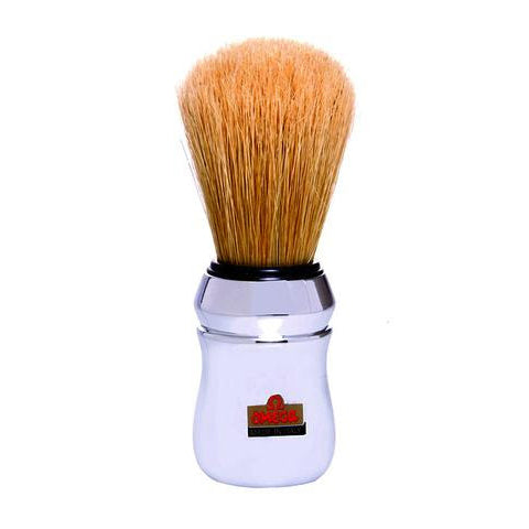 Omega - Chrome Boar Bristle Shaving Brush - 10048