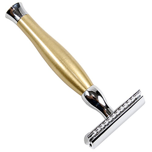 Parker - 48R Heavyweight Double Edge Gold Safety Razor