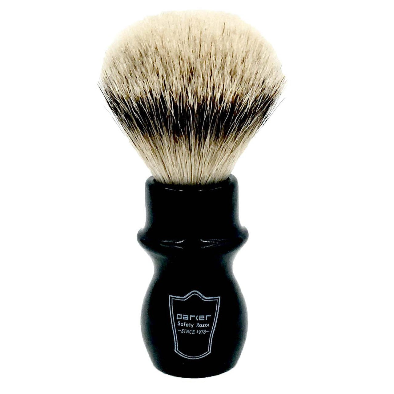 Parker - BMST Black Mug Silvertip Badger Shaving Brush