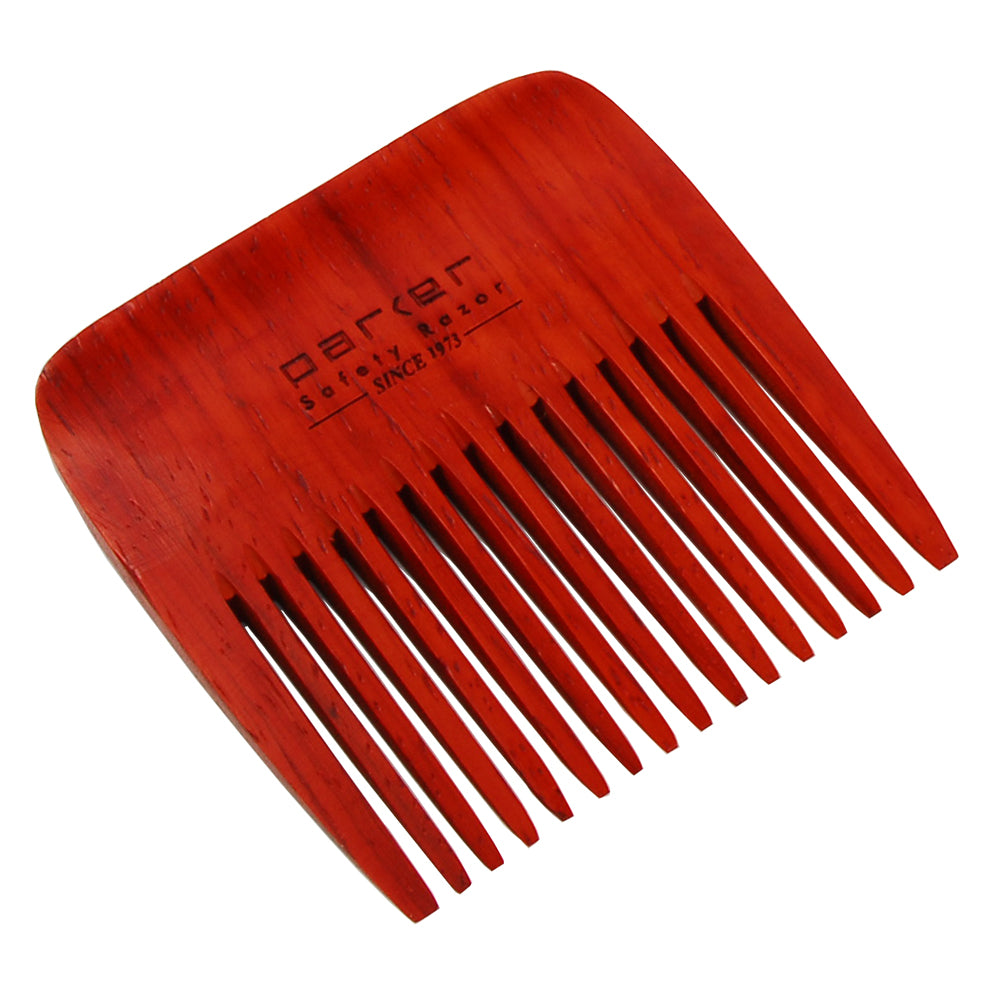 Parker - BRDCMB1 Rosewood Wide-Tooth Beard Comb