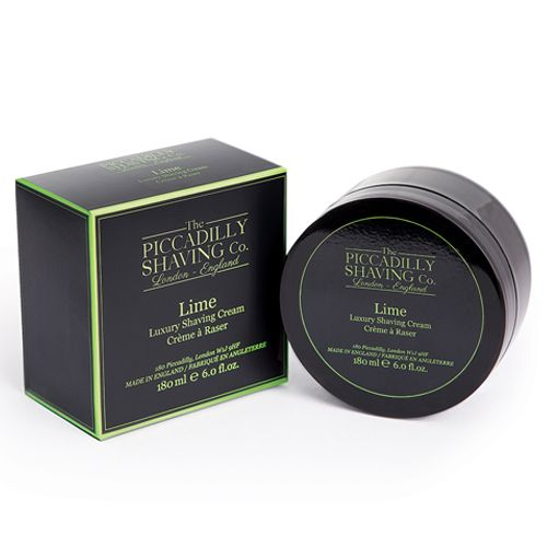 Piccadilly Shaving Co. - Lime Shaving Cream 180g