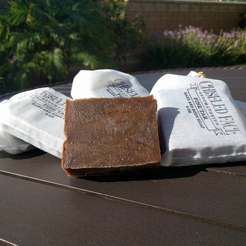 Chiseled Face – Ghost Town Barber – Bath Soap