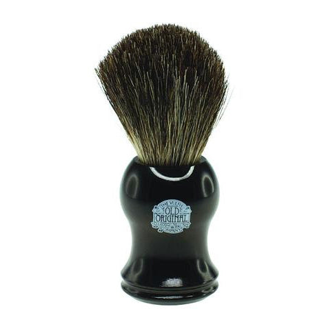 Vulfix - Pure Badger Shaving Brush, Black Handle - VX-2006B