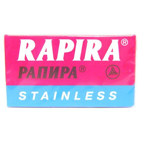Rapira Stainless DE Safety Razor Blades - 5 pack