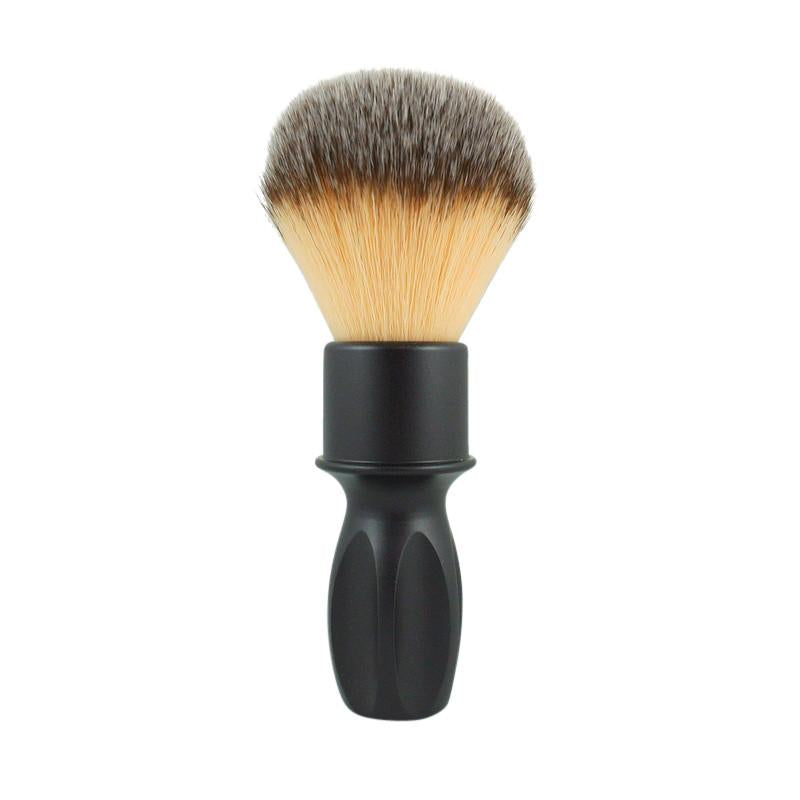 RazoRock - 400 Plissoft Synthetic Shaving Brush - Matte Black Handle