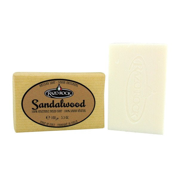 RazoRock - Artisan Bar Soap - Sandalwood