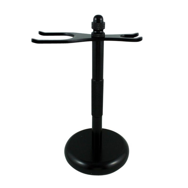 RazoRock - Black Razor and Brush - Stand #3