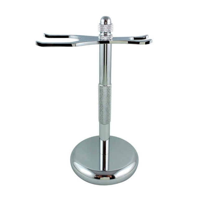 RazoRock - Chrome Razor and Brush - Stand #2