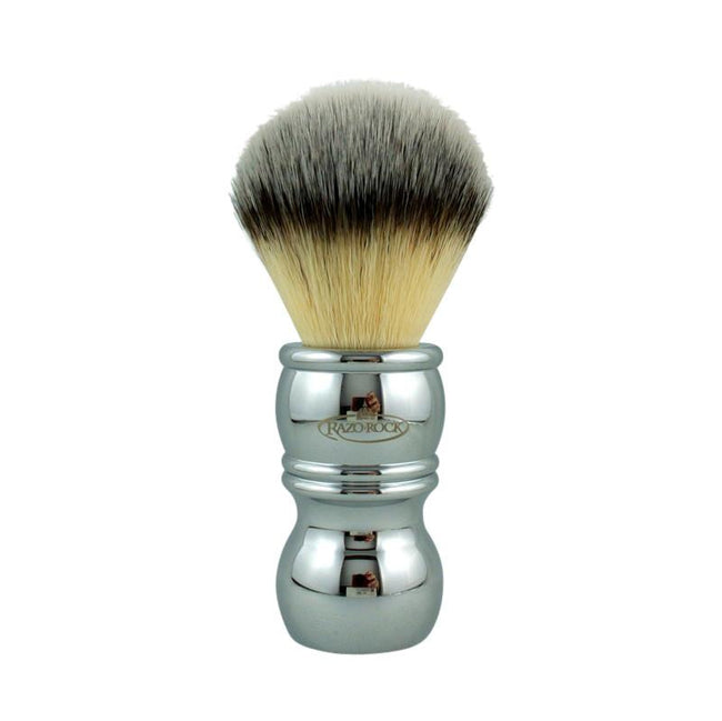 RazoRock - Chrome Silvertip Plissoft Synthetic Shaving Brush