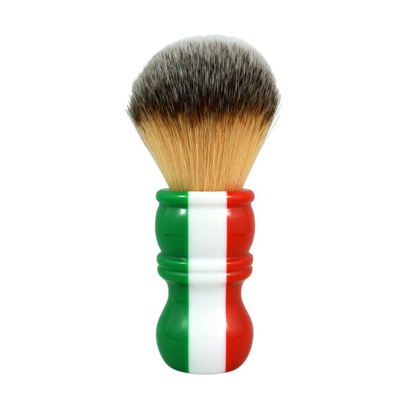 RazoRock - Italian Barber Three Color Plissoft Synthetic Shaving Brush