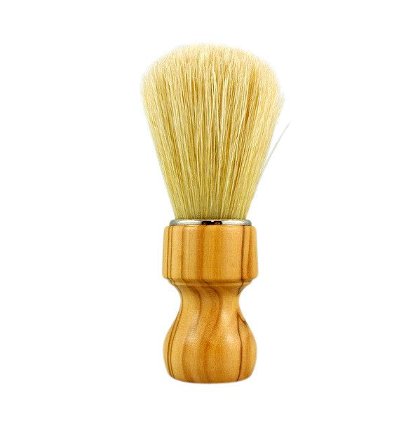 RazoRock - Natural Boar Bristle Shaving Brush - With Olive Wood 506 Handle (506UK)
