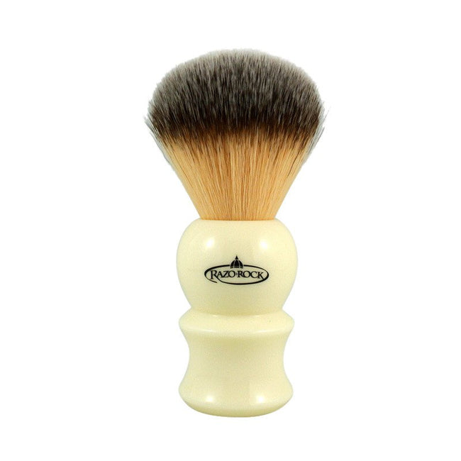 RazoRock - Plissoft IVORY 22 Synthetic Shaving Brush