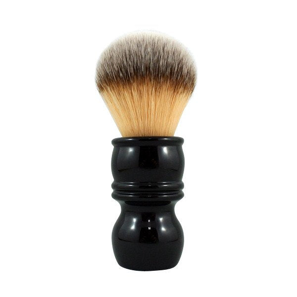 RazoRock - Plissoft Synthetic Shaving Brush (Barber Handle)