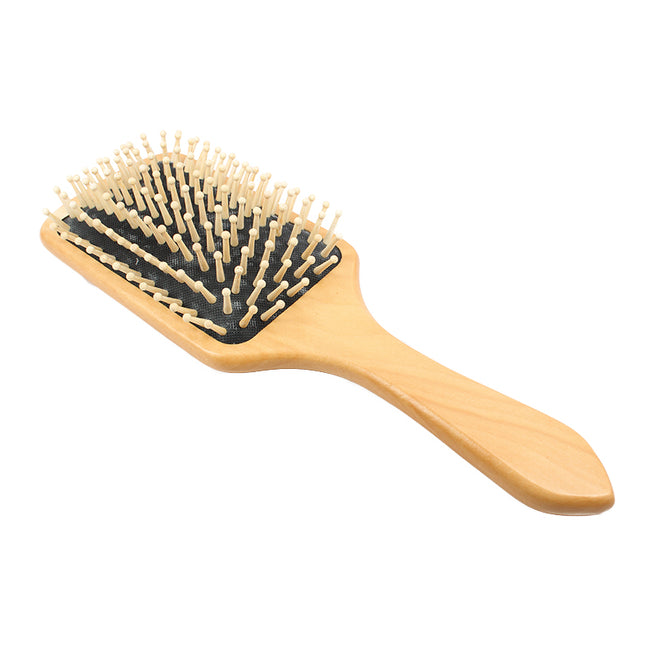 Rectangular Wooden Paddle Brush
