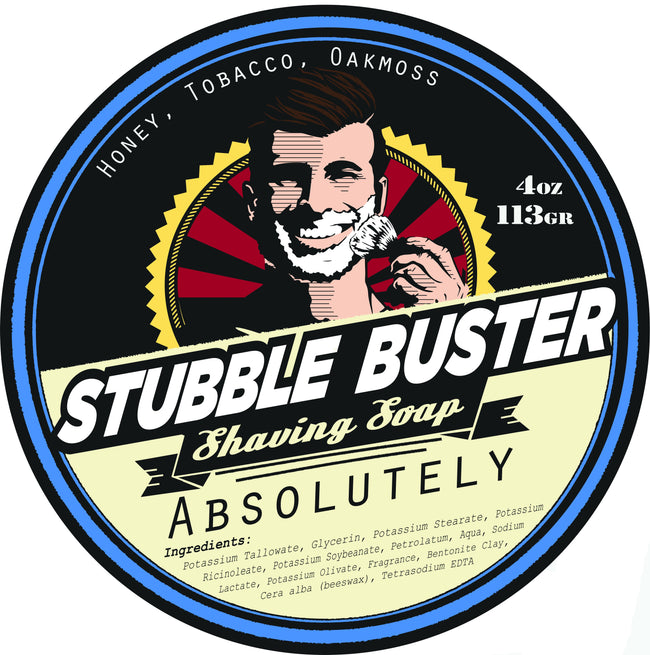 Stubble Buster - Absolutely - Handmade Shaving Soap
