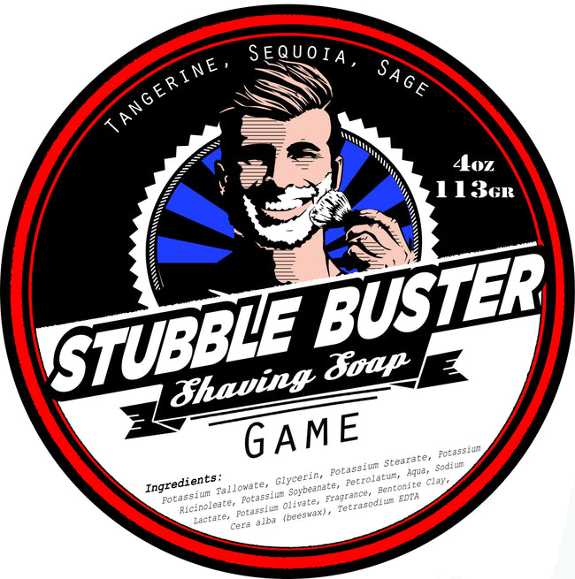 Stubble Buster - Game - Handmade Shaving Soap