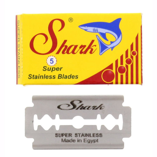 Shark DE Super Stainless Safety Razor Blades 5 Pack