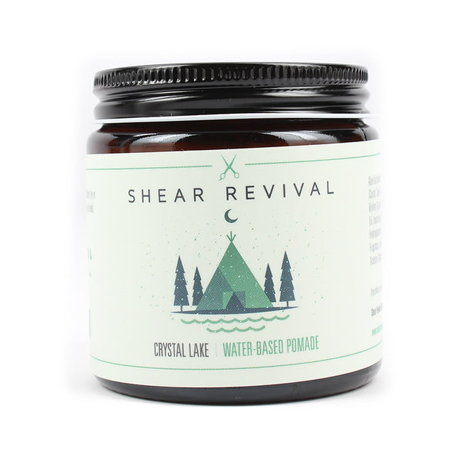 Shear Revival - Crystal Lake Water Based Pomade