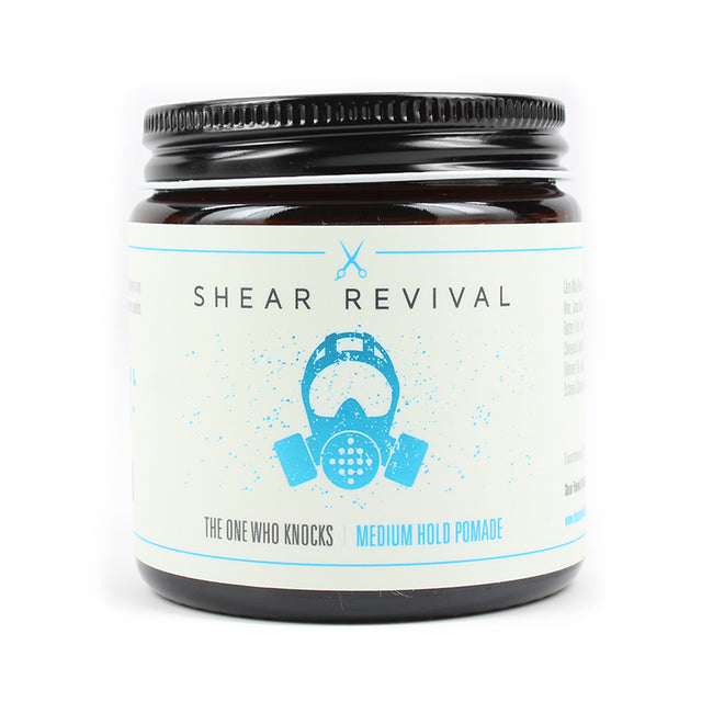 Shear Revival - The One Who Knocks Medium Hold Pomade