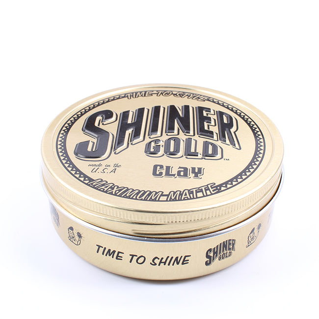 Shiner Gold - Maximum Matte Clay Pomade