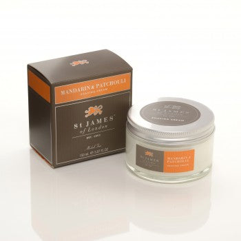 St. James of London - Mandarin & Patchouli Shave Jar 5.07 oz