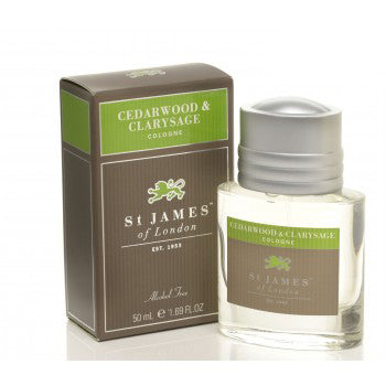 St. James of London – Cedarwood & Clarysage Cologne 1.69 oz