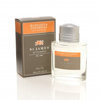 St. James of London – Mandarin & Patchouli Post-shave Gel 3.40 oz