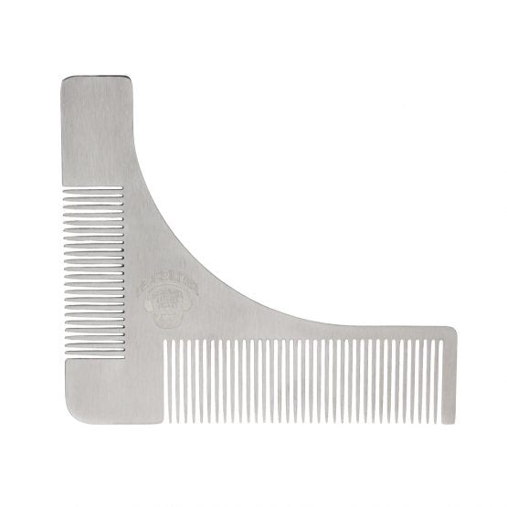 Stainless Steel Beard Shaping Tool and Comb