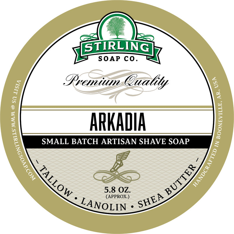 Stirling Soap Co. - Arkadia Shaving Soap