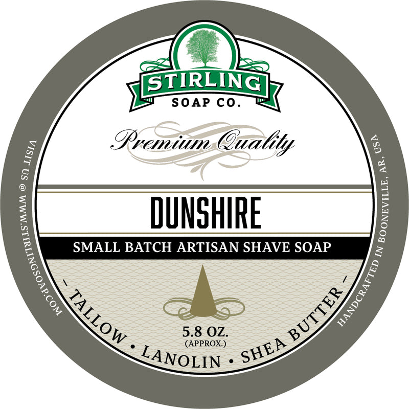 Stirling Soap Co. - Dunshire Shaving Soap
