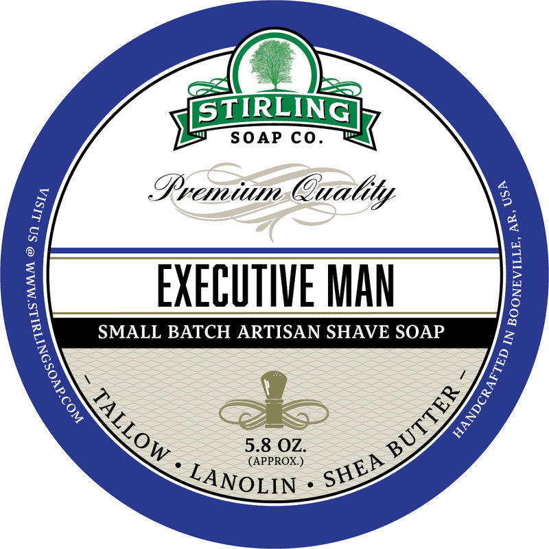 Stirling Soap Co. - Executive Man Shaving Soap