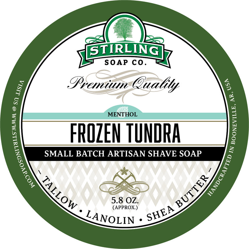 Stirling Soap Co. - Frozen Tundra Shaving Soap