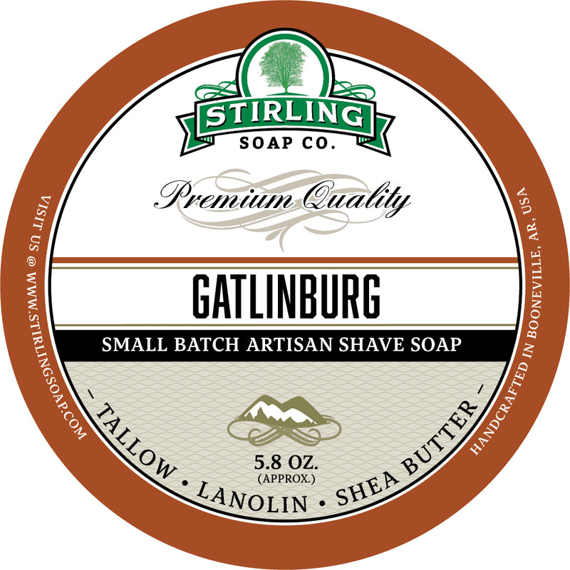 Stirling Soap Co. - Gatlinburg Shaving Soap