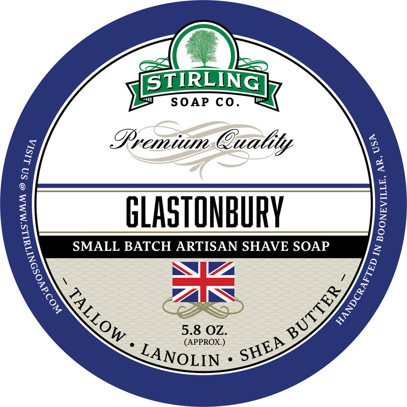 Stirling Soap Co. - Glastonbury Shaving Soap