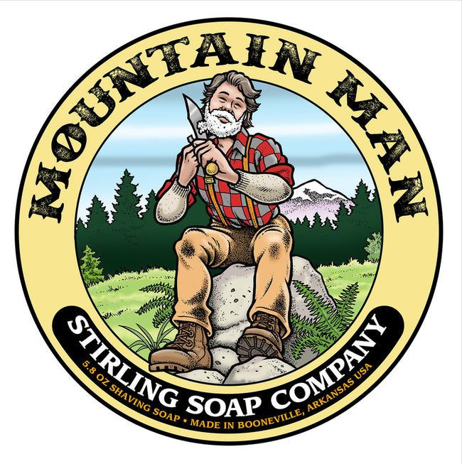 Stirling Soap Co. - Mountain Man Shaving Soap