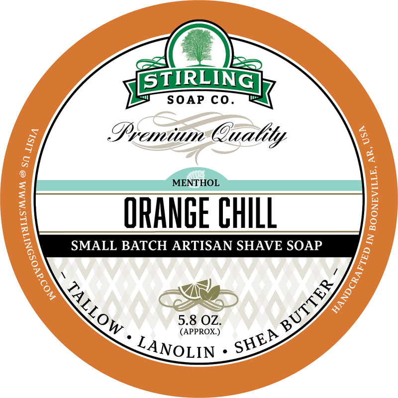 Stirling Soap Co. - Orange Chill Shaving Soap