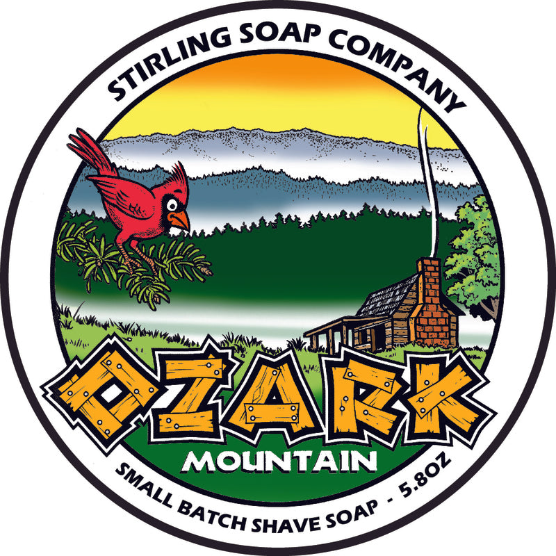 Stirling Soap Co. - Ozark Mountain Shaving Soap