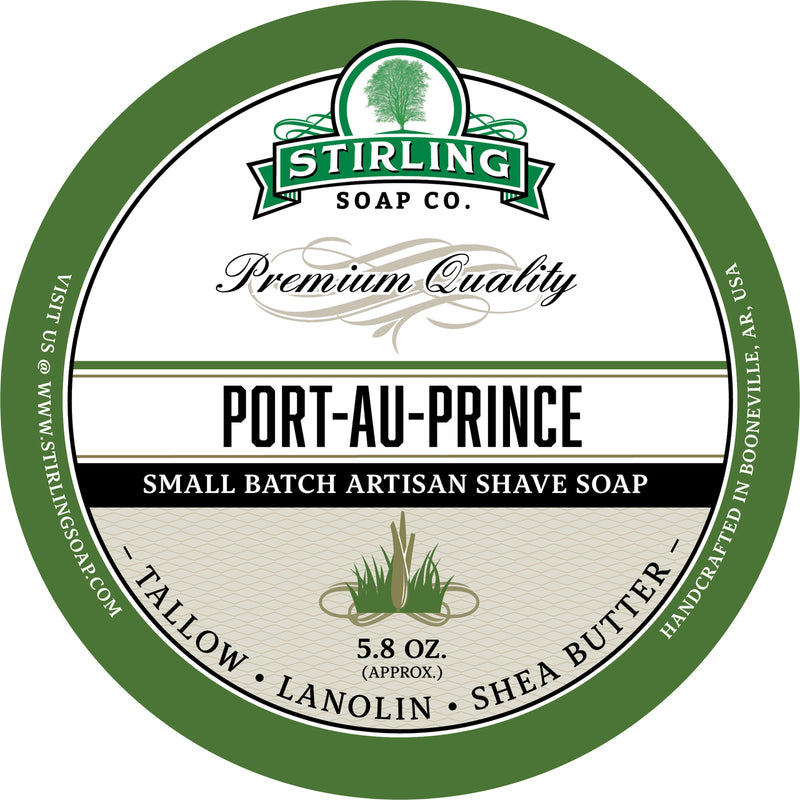 Stirling Soap Co. - Port-au-Prince Shaving Soap