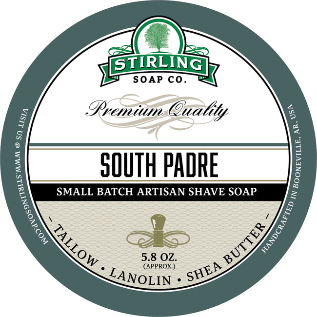 Stirling Soap Co. - South Padre Shaving Soap
