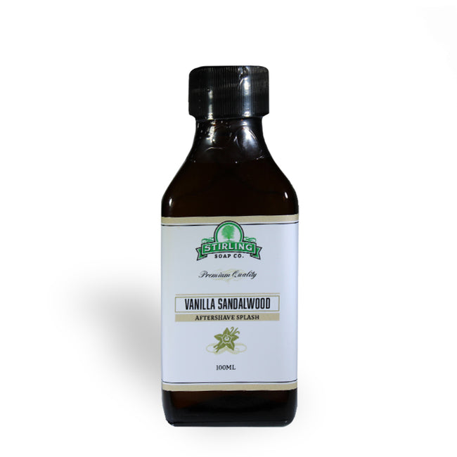 Stirling Soap Co. - Vanilla Sandalwood Aftershave Splash