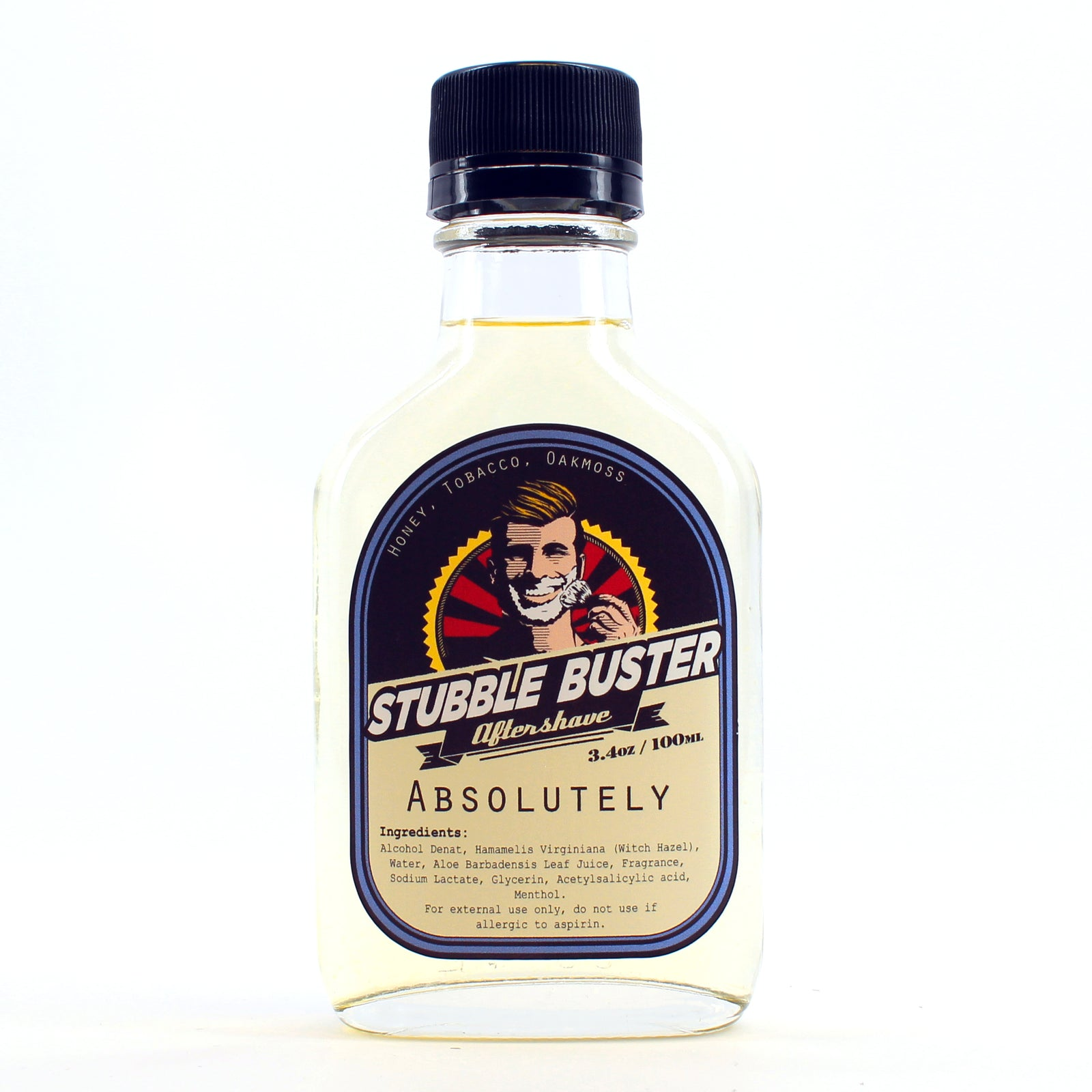 Stubble Buster - Absolutely - Handmade Aftershave Splash