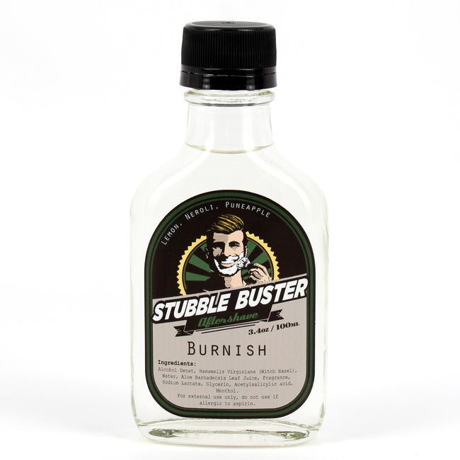 Stubble Buster - Burnish - Handmade Aftershave Splash