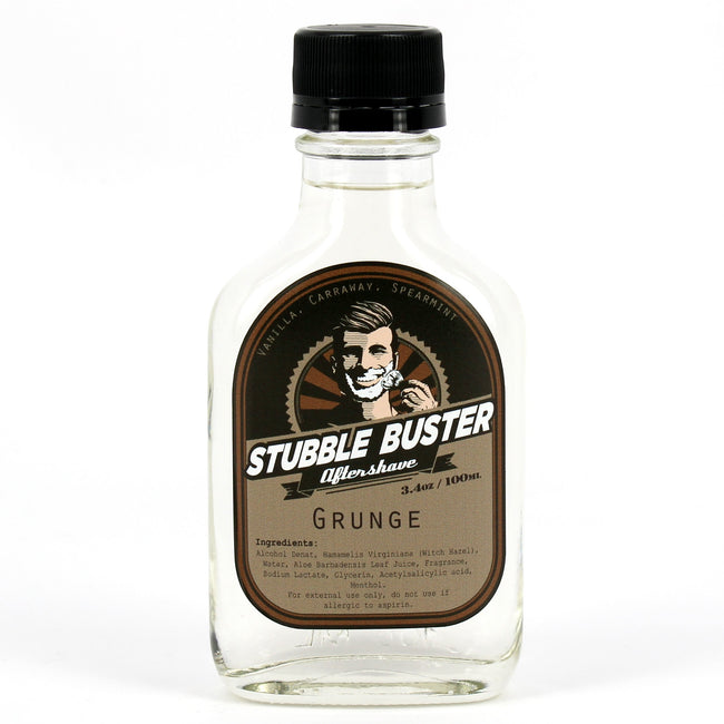 Stubble Buster - Grunge - Handmade Aftershave Splash