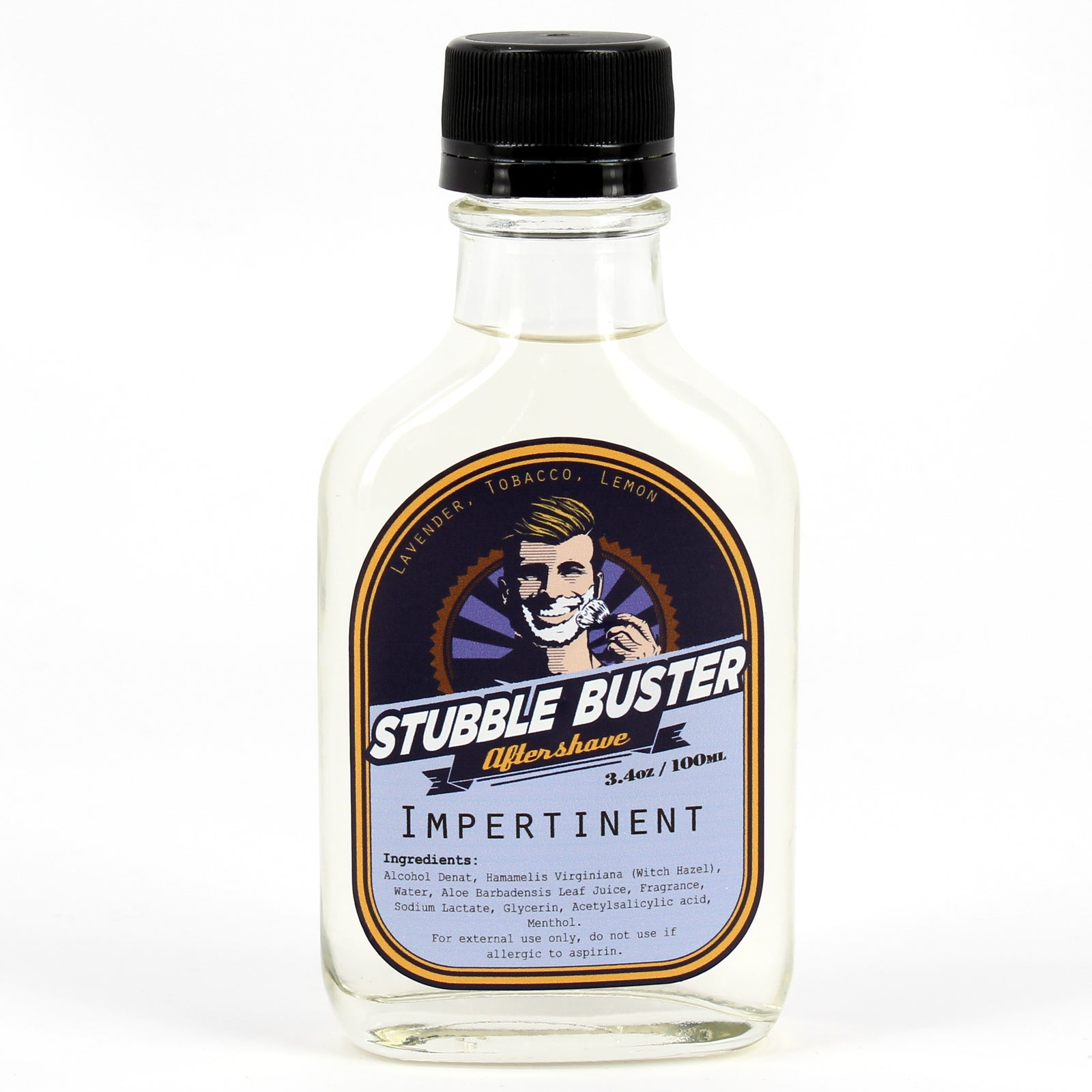 Stubble Buster - Impertinent - Handmade Aftershave Splash
