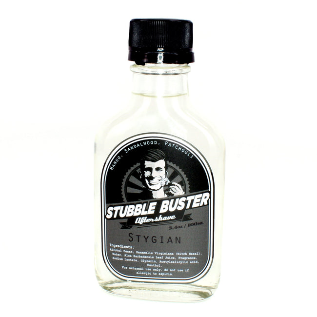 Stubble Buster - Stygian - Handmade Aftershave Splash