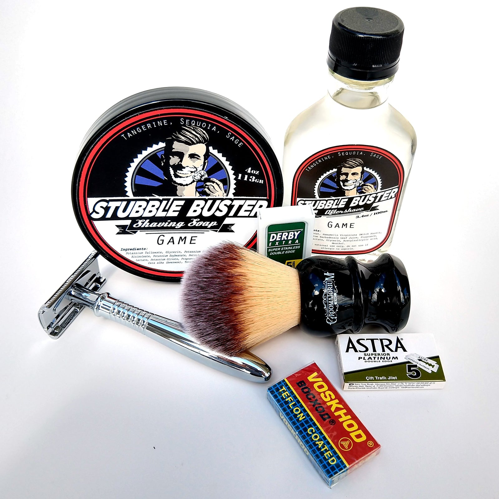 Stubble Buster - Standard Shaving Kit