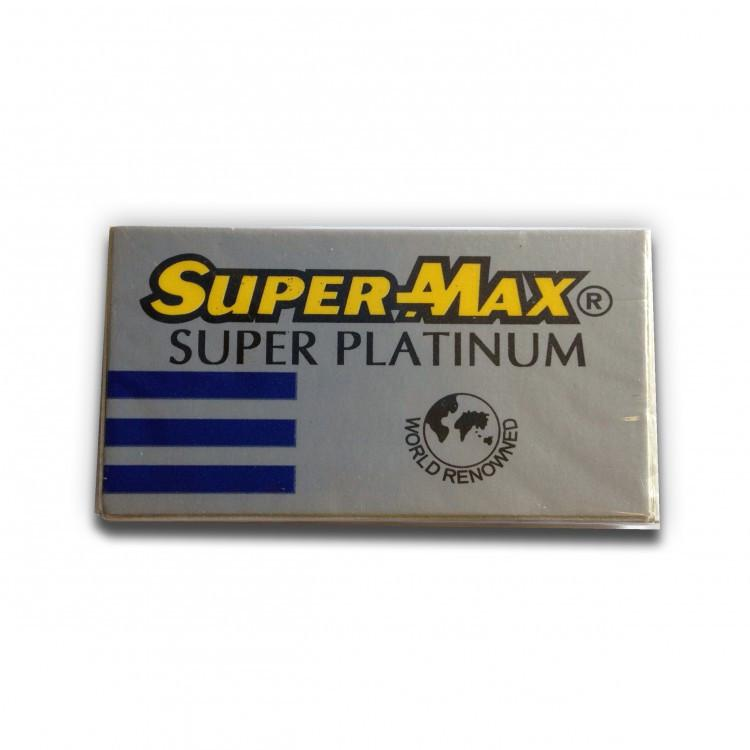 Super-Max Super Platinum DE Safety Razor Blades - 5 pack