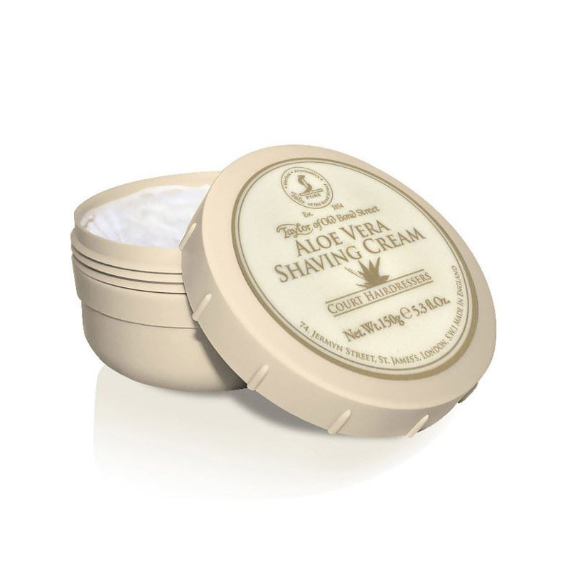 Taylor of Old Bond Street - Aloe Vera Shaving Cream Bowl 150gr