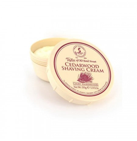 Taylor of Old Bond Street - Cedarwood Shaving Cream Bowl 150gr