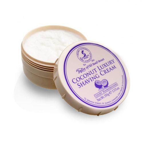 Taylor of Old Bond Street - Coconut Shaving Cream Bowl 150gr